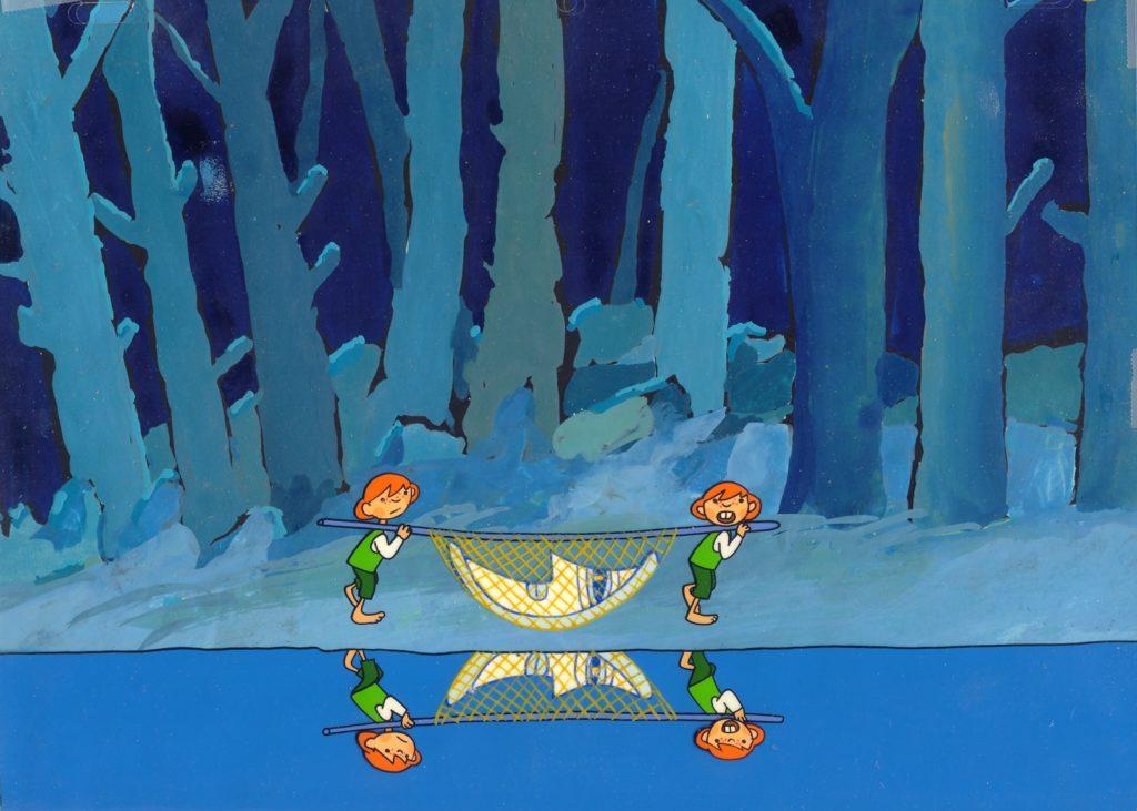 J: Taka spółka to ciężki kawałek chleba... a właściwie ciężki kawałek Księżyca. P: Cicho! Nie narzekaj! Ciesz się że nie jest pełnia!